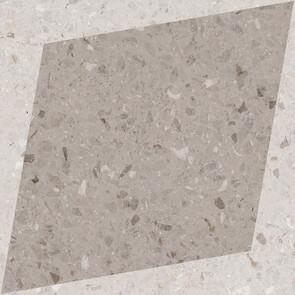 Natural Drops Rhombus Decor - Taupe