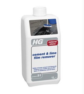 HG 31 -  natural stone cement & lime film remover - 1L