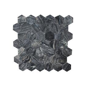 Zebra Mosaic - Hexagon