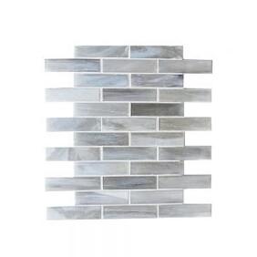 Coastal Brick Glass Mosaic - Artic