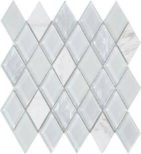 Jewel Mosaic  - white