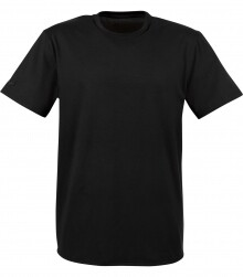 Trigema - Women's T-Shirt (RoundNeck-ClassicCut) - 100% Organic Cotton - Black 2020