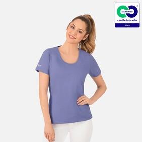 Trigema - Women's T-Shirt (Round Neck) - 100% Organic Cotton - Lily - 2021
