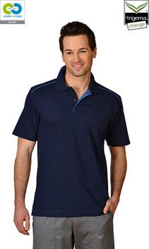Mens Navy Polo T-Shirt - 2020