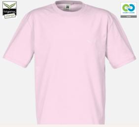 Trigema - Children's T- 100% Organic Cotton - Powder Pink