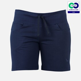 Trigema - Women's Shorts - 100% Organic Cotton - Navy (2021)