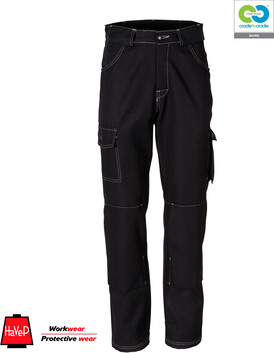 HaVeP Rework - Black Work Trousers