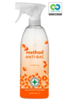 Method - anti-bac all purpose cleaner - orange yuzu