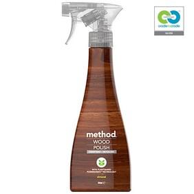 method - Wood Polish Spray - Almond - 354ml