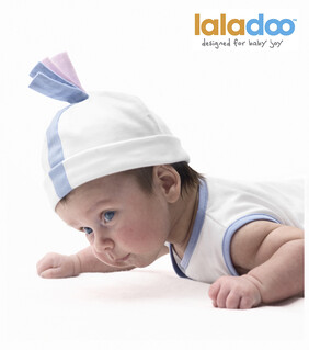 SALE - (LAST TWO) - Laladoo - Daffi Baby Beanie - Pink