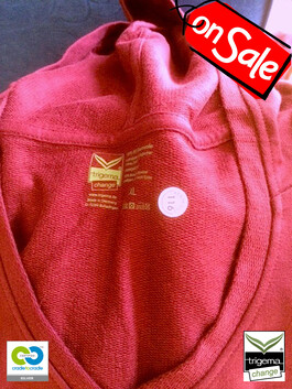 SALE (ONE ONLY) - Womans XL Cradle to Cradle Certified™ Sangria Hooded Sweater