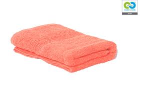 Clarysse - Coral - Single Hand Towel