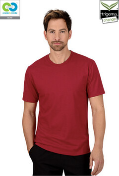 Mens Ruby Round Neck T-Shirts - 2019