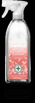 method - peach blossom - anti-bac all purpose cleaner