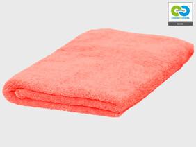 Clarysse - Coral - Single Bath Towel