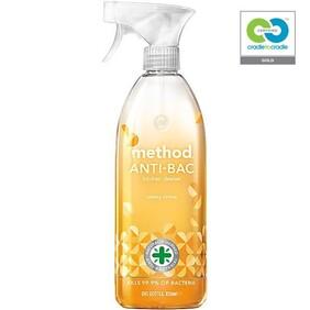 method - sunny citrus - anti-bac kitchen cleaner