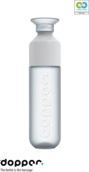 SALE- Dopper Original - Pure White (LAST 3) - Bottle & Cup - 450ml