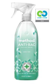 method - water mint - anti-bac bathroom cleaner