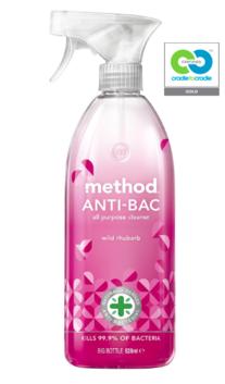 method - wild rhubarb - anti-bac all purpose cleaner