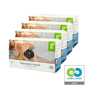 gNappies Disposable Inserts,Newborn/Small-Case(4 pack) SEE NOTES IN DESCRIPTION