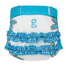 gPants - Girly Twirly Blue