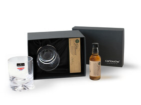 Whisky Gift Set with Dimple Crystal Glass | Made in Britain