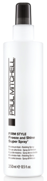 Firm Style Freeze and Shine Super Spray 100ml, 250ml, 500ml
