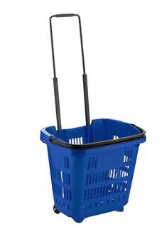 Plastic Trolley Shopping Baskets
