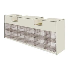 Combination Checkout Counter