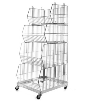 Stacking Baskets 475mm