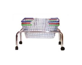 Basket Tubular Plinth with castors