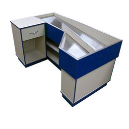 Stainless Steel Check Out Counter