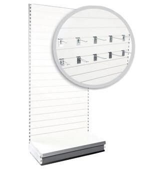 SW1 800 Bay slatwall back panels