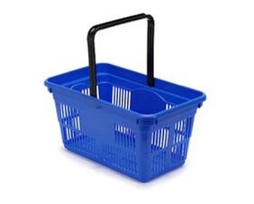 Plastic Shopping Baskets 22 Litre Capacity