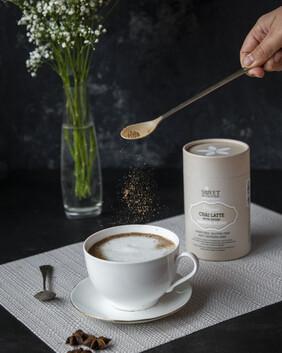 Organic Chai Latte with Reishi Barista Blend