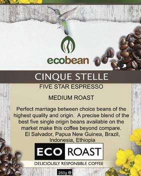 CINQUE STELLE - Five Star Espresso Blend