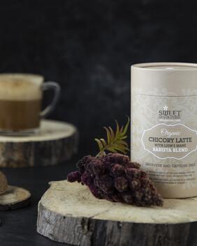 Organic Chicory Latte with Lion's Mane