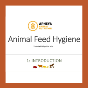 Feed Hygiene Online Training Course