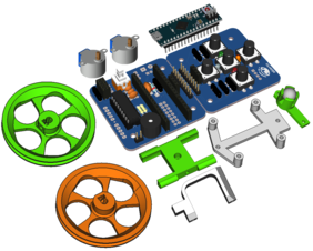Escornabot Ogaki Assembled + Chasis + Arduino Micro original
