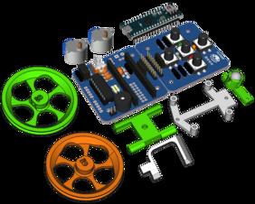 Escornabot Ogaki +Chasis + Arduino Micro original