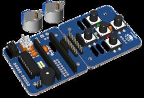 Escornabot Ogaki (w/o chassis, w/o microcontroller)
