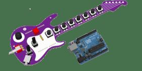 Fenderino Guitar Shield Assembled (Arduino board included)