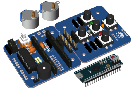 Escornabot Ogaki (w/o chassis) + Arduino Micro original