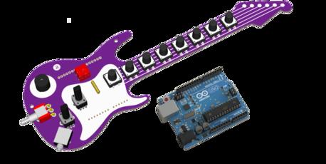 Fenderino Guitar Shield (Arduino board included)