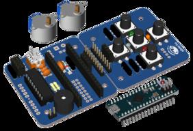Escornabot Ogaki Assembled (w/o chassis) + Arduino Micro original