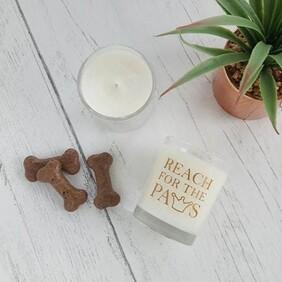 Lemon Drizzle Candle - £1 goes towards Dunton Greyhound Trust
