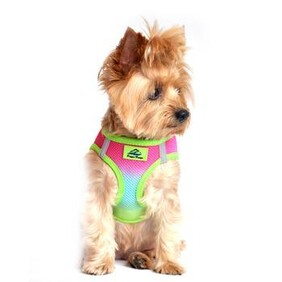 """Patented """"Ombre"""" American River Choke Free Harnesses size 3X Large"""