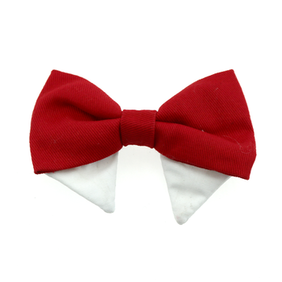 Universal dog bow tie - sold red type 2