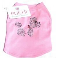 Poodle pink crystal T-shirt size XL - Cocker