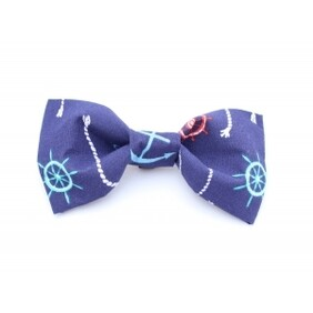 A Sailors Pooch Bow Tie